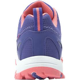 TROLLKIDS Rondane Hiker Low Shoes Kids, dark purple/coral rose